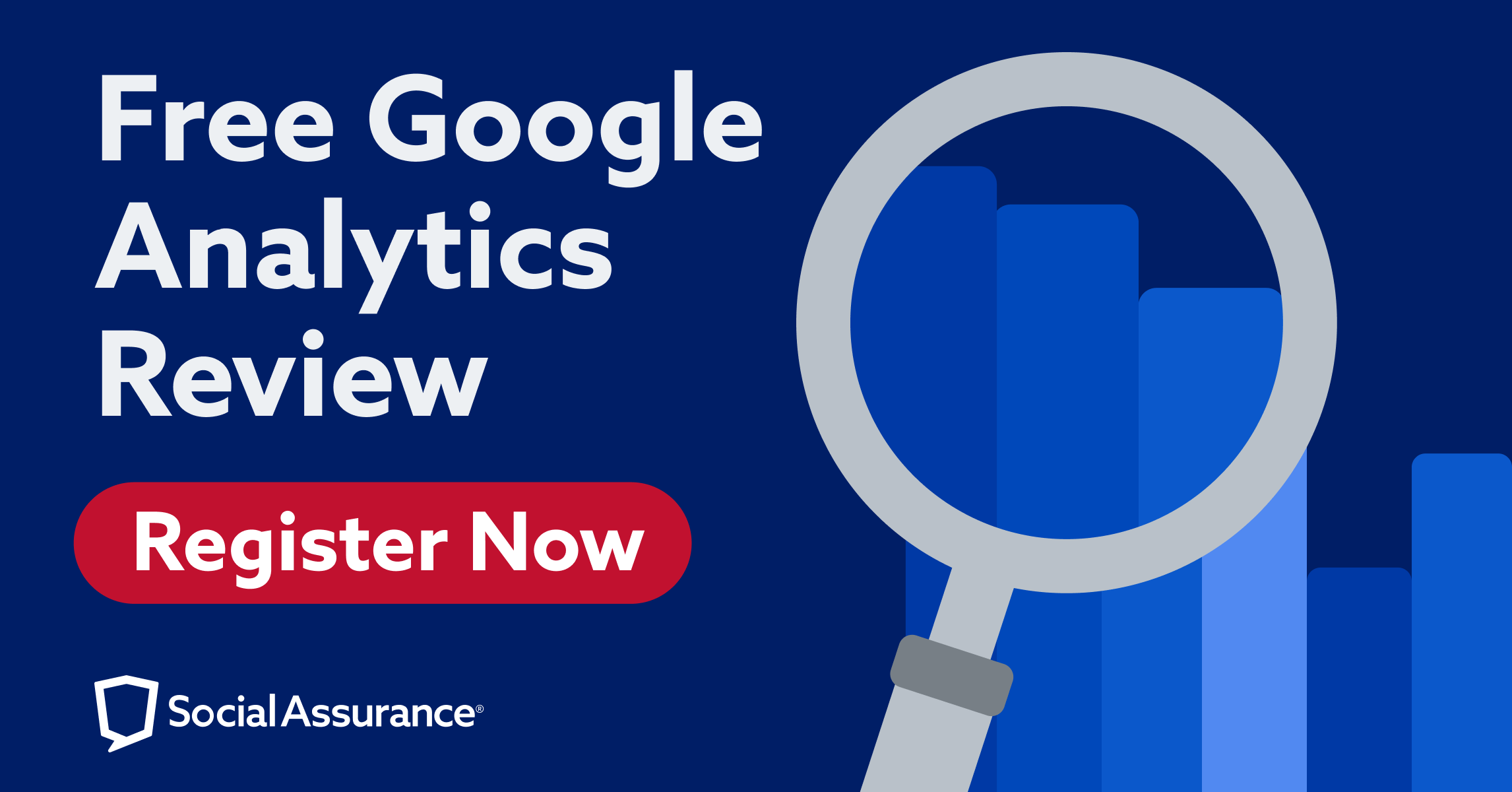 Register for a free Google Analytics Review