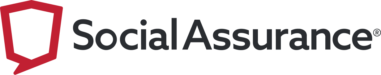 Social Assurance logo, red shield